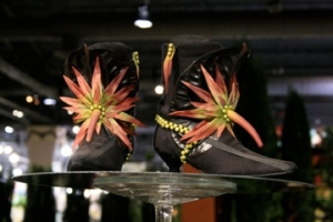 obscene flower show shoes