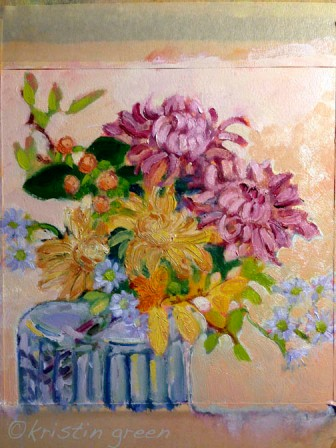 mums, etc in oil